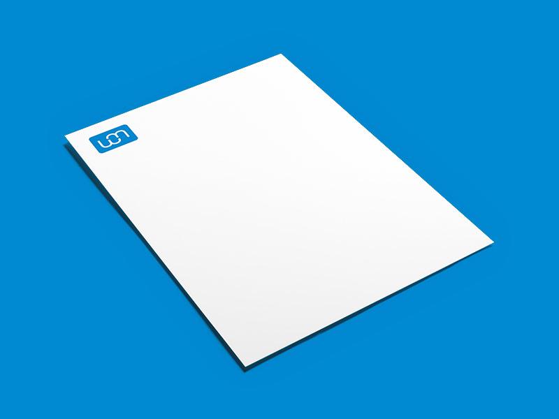 Briefpapier Druck und Gestaltung