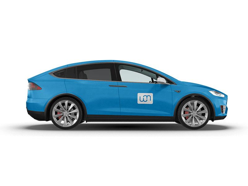 Fahrzeugbeschriftung und individuelle Beklebung und Folierung