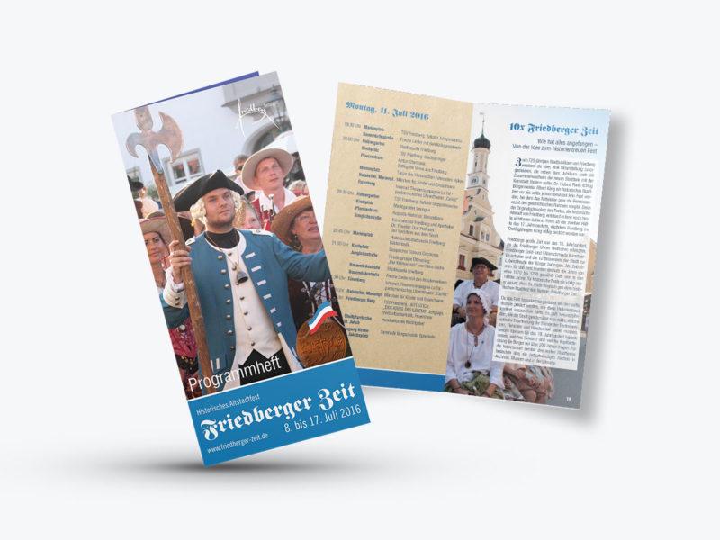 Gestaltung & Druck Broschüre