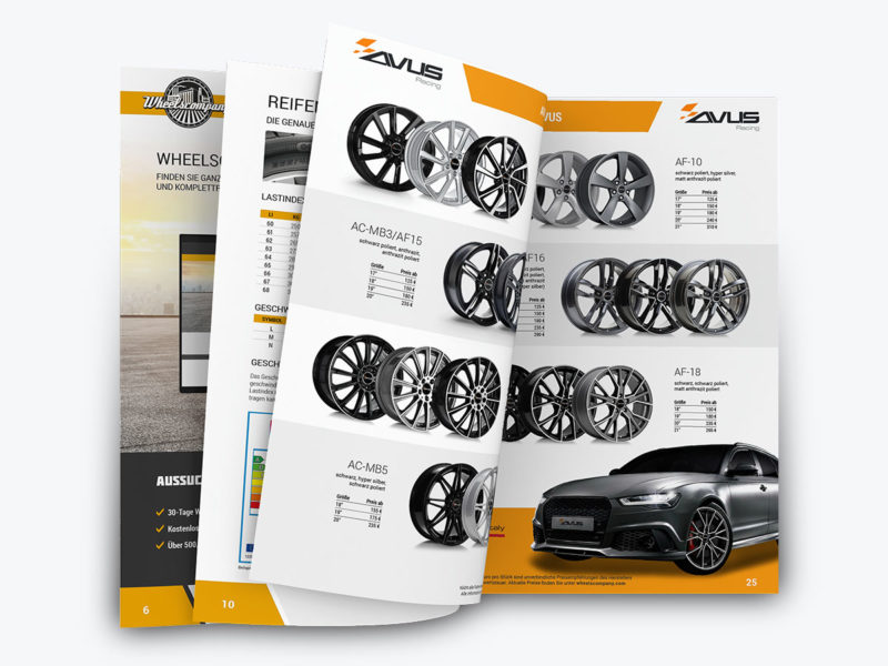 Gestaltung & Layout Katalog